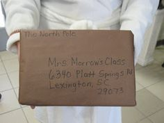 Mrs. Morrow's Kindergarten: Happy Holidays!  Have package delivered cold to the classroom