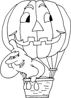 Halloween para Colorir - Desenhos e Riscos