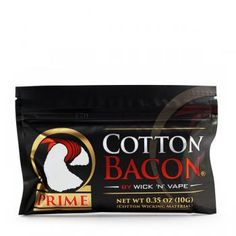 Wick N Vape Cotton Bacon Prime Wickelwatte Vape, Cotton, Electronic Cigarette, Vaping