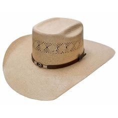 Tombstone Vented Brick Crown Cowboy Hat
