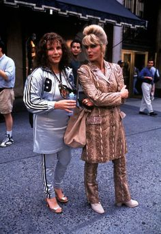 In 1992, Edina and Patsy brought the world of fashion PR to our screens in Absolutely Fabulous