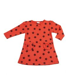 Take a look at this Nosilla Organics Saffron Star Pocket Organic Dress - Infant & Toddler on zulily today!