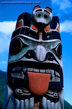 International: Native American totem pole inspiration