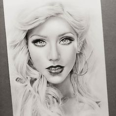 WANT A FEATURE ? CLICK LINK IN MY PROFILE !!! Tag #LADYTEREZIE Repost from @sss0201 @xtina #pencil#drawing via http://instagram.com/ladyterezie