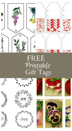 Free Printable Gifts Tags For Any Occasion Print Them Out And Cut Then Tie Or Tape The To Your Gift