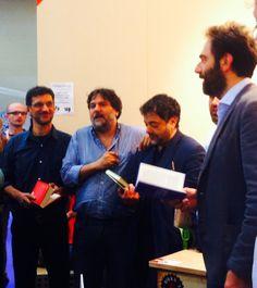 #birreeletture: gli ospiti di questa sera sono Fabio Stassi, Tommaso Pincio e Neri Marcorè.
