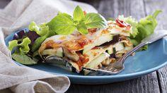 It's #NationalLasagnaDay! Whip up this meatless, healthier recipe: Zucchini Lasagna. #vegetarian #healthyrecipes | everydayhealth.com