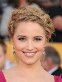 Crown fishtail braids  ================ An easy to do glamorous style perfect for a date or an elegant formal event. Tie your hair at the back to free up the front of your head for a braid. Tangle a braid around your head to make it look like a crown and give yourself a queeny look.  www.dressrepublic.com