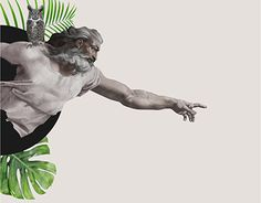 """Check out new work on my @Behance portfolio: """"The God illustration"""" http://be.net/gallery/52829525/The-God-illustration"""
