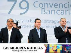 LAS MEJORES NOTICIAS. La Convención Nacional Bancaria es un evento organizado anualmente en el puerto de Acapulco, al cual asisten los directivos de los bancos que operan en el país para hablar sobre los temas que suceden en la actualidad en dicho sector, sus diferentes puntos de vista y los próximos retos. Para conocer más información sobre este tema, le invitamos a ver el noticiero de Paola Rojas. www.paolarojas.com.mx #PaolaRojas