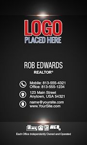 Remax Real Estate Business Card Template 86