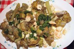 artichoke salad shrimp valentine