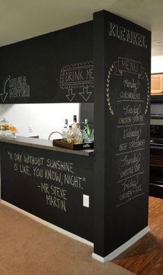 Peindre sa cuisine avec de la peinture pour craie ! #dccv #kitchen #cuisine