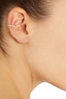 Anita Ko 18-karat diamond ear cuff