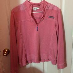 pink jacket vineyard vines pink pullover. good condition Vineyard Vines Other