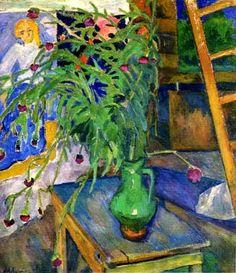 Mikhail Larionov - Flowers On The Table