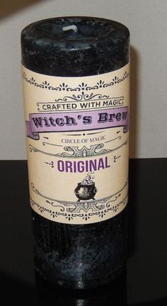 WITCHES BREW Candle Coventry Creations EMPOWER Protection Manifestation Candle