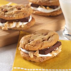 Salty Peanut Butter S'More (Easy; 12 sandwiches) #s'more #peanut butter