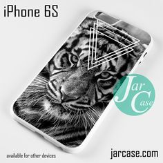 Hipster Tiger Phone case for iPhone 6/6S/6 Plus/6S plus