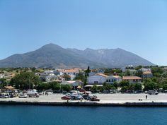 """* Ilha de Samothraki (Samotrácia) * Grécia.  Mar Egeu. Arquipélago das """"Ilhas Egéias do Norte"""". Área: 177,9 Km²."""