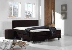 Boxspring Victory - 160 x 200 cm - Kunstleer - Black Master Bedroom, New Homes, Couch, Storage, Interior, Inspiration, Furniture, Black, Home Decor