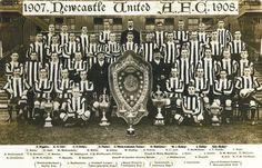 Newcastle United Football Club, (Las Urracas) Campeón de liga 1907-08.