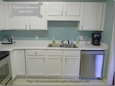 A Business and a Bungalow : Kitchen Makeover with Paint