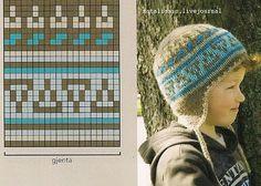 Орнамент\норвежский шапки варежки носки. Обсуждение на LiveInternet - Российский Сервис Онлайн-Дневников Knitting Charts, Baby Knitting, Knitting Patterns, Crochet Patterns, Knit Crochet, Crochet Hats, Treasure Boxes, Mittens, Knitted Hats