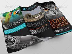 23. Adventure Travel | Tour Brochure  http://textycafe.com/travel-brochure-templates/