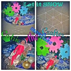 What the E.L.F.? Cedric the snowflake crafter! Let it SNOW...Let it SNOW! Happy ELFMAS!