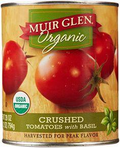 Muir Glen Organic Crushed Tomatoes with Basil, 28 Oz Muir Glen http://www.amazon.com/dp/B000R73YR2/ref=cm_sw_r_pi_dp_qHhaxb1H0QHWW