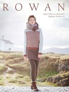 Magazine 60 by Rowan. Discover more books by Rowan at LoveKnitting. The world's largest range of knitting supplies - we stock patterns, yarn, needles and books from all of your favourite brands. Rowan Knitting, Rowan Yarn, Knitting Books, Knitting Yarn, Knitting Patterns, Crochet Patterns, Knitting Ideas, Jumper Patterns, Knitting Projects
