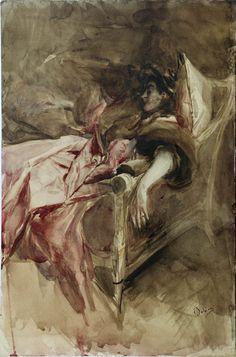 """Giovanni Boldini (Italian, 1842-1931) """"Signora in rosa"""" 1895 courtesy Fondazione Cariparma"""