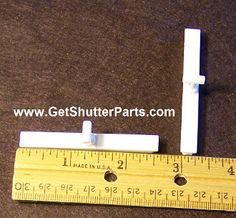 Shutter Vane Connector For 2 1 2 Quot Louvers Shutters Diy