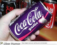 Funny pictures about Soda Is Different In Romania. Oh, and cool pics about Soda Is Different In Romania. Also, Soda Is Different In Romania photos. Coca Cola Garlic, Pepsi, Ben Und Jerrys, Dr Pepper Can, Weird Food, Fake Food, Food Humor, Funny Food, Oreos