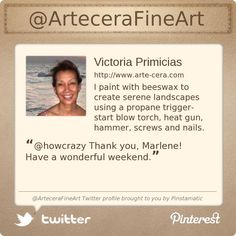 Follow me on Twitter @ArteceraFineArt