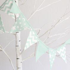 banderin de tela decorar fiestas