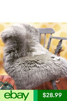 Area Rugs & Mats Home & Garden Silver Grey Rug, Sheep Wool, Sofa Covers, Grey Rugs, Sofa Chair, Lana, Fur, Blanket, Garden