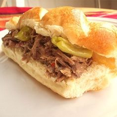 Original Homemade Italian Beef - sub 1/2 cup beer along with water
