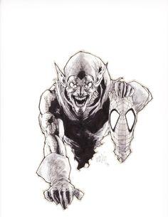 Green Goblin by Leinil Yu