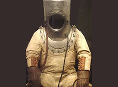 Diver costume, particularly helmet, could work well for marine development aspect