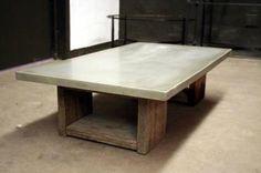 Scaffolding coffee table by James De Wulf