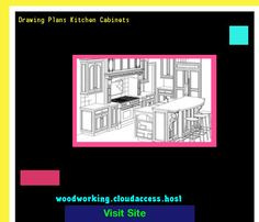 Drawing Plans Kitchen Cabinets 074606 - Woodworking Plans and Projects!