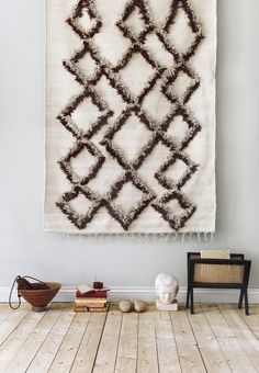 Finarte Tie cotton rug in brown is designed by Finnish designers Saana ja Olli. Tie is a combination of rya technique and the traditional Finnish cotton flat weave carpet. Flat Weave Carpet, Decor, Cotton Rug, Rugs, Interior Design Inspiration, Animal Print Rug, Recycled Cotton, Shop Design, Vintage Living Room