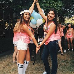 Kappa Alpha Theta at University of California, Berkeley #KappaAlphaTheta #Theta #BidDay #sorority #Berkeley