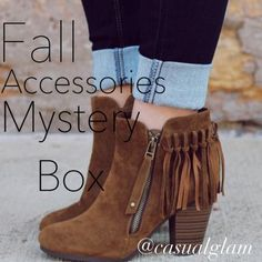 Fall Accessories 🍁🍂Mystery Box (5 Pcs) // NWT With fashion in the full flush of a new, maximalist mood, bags, shoes, and jewels have taken center stage. On the Fall runways, the heels were haute, the bijoux was stacked and layered to high heaven, and the bags were furrier or came with accessories of their own. The forecast: Get ready for your most sumptuous season yet. Everything that I'll send you that will be new with tags. No offers accepted price is firm. Brands MIGHT include: J.Crew…