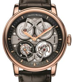 The new Arnold & Son Constant Force Tourbillon watch with images, price, background, specs, & our expert analysis.