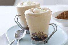 Mousse di caffe con spuma al mascarpone
