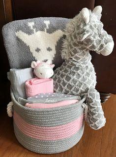 Gigi Giraffe Baby Gift Basket