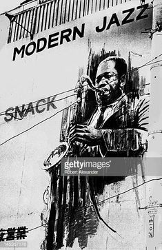 Image result for saxophone player black and white paintings Jazz Players, Saxophone Players, Sonny Rollins, Black And White Painting, Paintings, Image, Movie Posters, Fictional Characters, Art